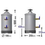 Αποσκληρυντής νερού αφαλατωτής silanos lt16 c6231