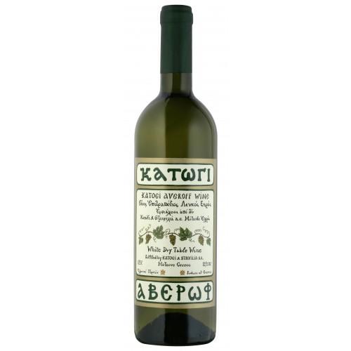 Λευκός οίνος ξηρός κατώγι Αβέρωφ 750ml 2ai