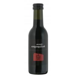Ερυθρός οίνος ξηρός μικρή στροφιλιά 187ml 2ai