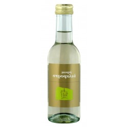 Λευκός οίνος ξηρός μικρή στροφίλια 187ml 2ai