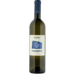 Λευκός οίνος ξηρός στροφίλια 750ml 2ai