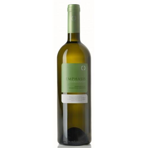 Λευκός οίνος ξηρός emphasis chardonnay κτήμα Παυλίδη 750ml 3ai