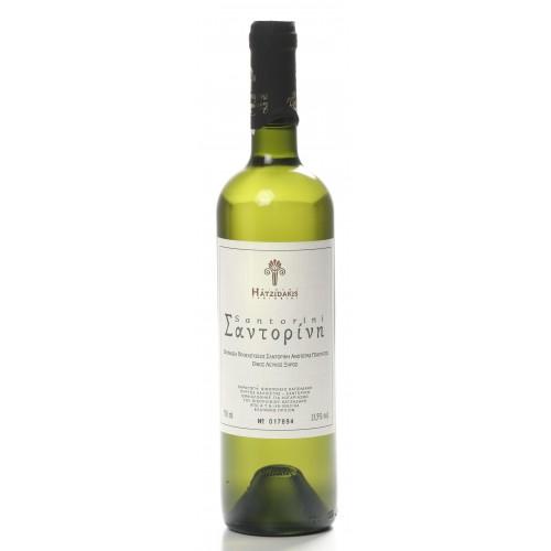 Λευκός οίνος ξηρός Σαντορίνη Χατζηδάκης 750ml 3ai
