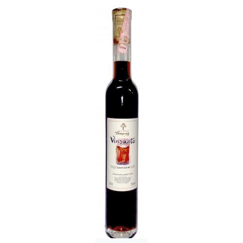 Λευκός οίνος φυσικώς γλυκύς vinsanto Χατζηδάκης 375ml 3ai