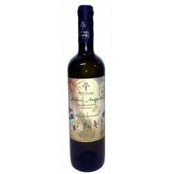 Βιολογικός λευκός οίνος ξηρός Σαντορίνη Αηδάνι magnum 1500ml 2013 3ai