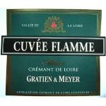 Αφρώδης οίνος λευκός ξηρός gratien meyer cuvee flamme 19ai