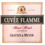 Αφρώδης οίνος ροζέ ξηρός gratien meyer cuvee flamme 19ai