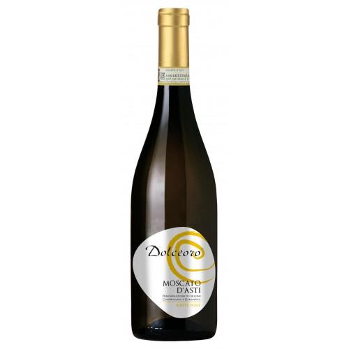 Λευκός οίνος αφρώδης γλυκύς moscato d asti dolceoro 2015 25ai