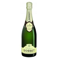 Λευκός οίνος αφρώδης gosset brut excellence 375ml 35ai