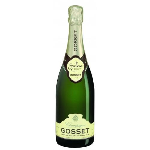 Λευκός οίνος αφρώδης gosset brut excellence 1500ml 35ai